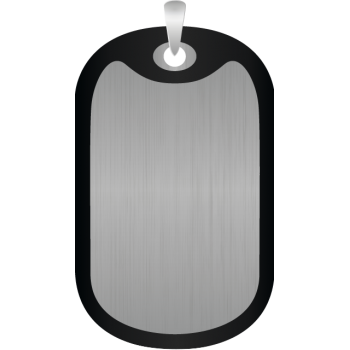 Rectangular pet ID tag