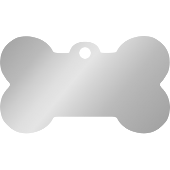 Steel pet ID tag